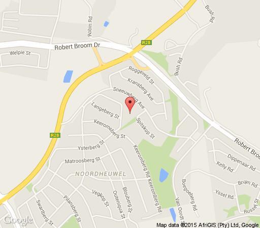 Map Aviators Retreat in Noordheuwel  Krugersdorp  West Rand  Gauteng  South Africa