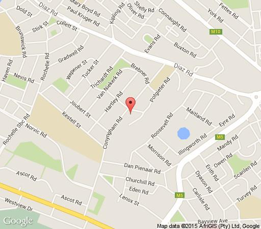 Map Port Elizabeth Guest House in Parsonhill  Port Elizabeth  Cacadu (Sarah Baartman)  Eastern Cape  South Africa