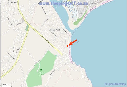 Map Adagio Self Catering in Stilbaai  Garden Route  Western Cape  South Africa