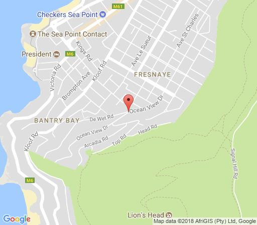Map Armia 7 in Fresnaye  Atlantic Seaboard  Cape Town  Western Cape  South Africa