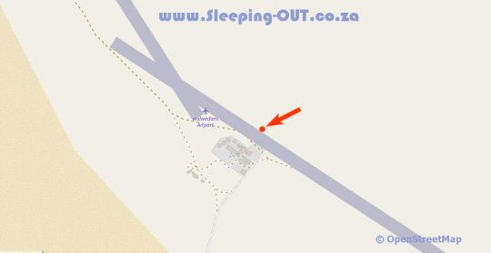 Map Wolwedans Dunes Lodge in NamibRand Nature Reserve  Hardap  Namibia