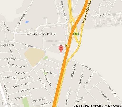 Map CedarWoods in Sandton Central  Sandton  Johannesburg  Gauteng  South Africa