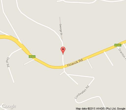 Map Redlands Hotel in Wembley  Pietermaritzburg  Midlands  KwaZulu Natal  South Africa