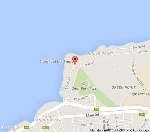 Map Atlantic Ridge  in Mouille Point  Atlantic Seaboard  Cape Town  Western Cape  South Africa