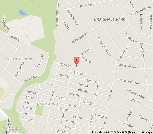 Map Dunkeld Manor in Dunkeld West  Northcliff/Rosebank  Johannesburg  Gauteng  South Africa