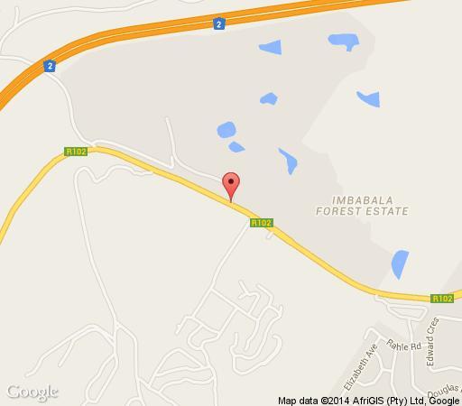 Map Fairytale Villa in Pennington  South Coast (KZN)  KwaZulu Natal  South Africa