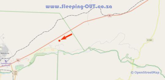 Map Gecko Ridge Guesthouse in Swakopmund  Erongo  Namibia