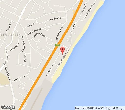 Map Bentley on the Beach in Umhlanga Rocks  Umhlanga  Northern Suburbs (DBN)  Durban and Surrounds  South Africa