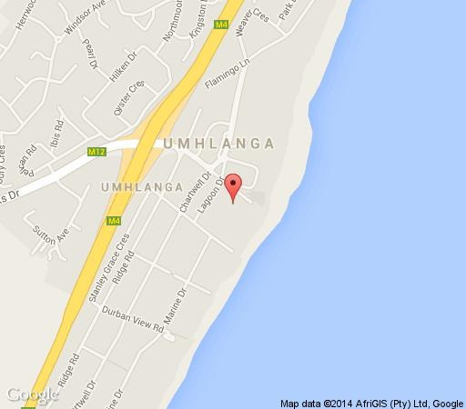 Map 102 Oyster Rock in Umhlanga Rocks  Umhlanga  Northern Suburbs (DBN)  Durban and Surrounds  KwaZulu Natal  South Africa