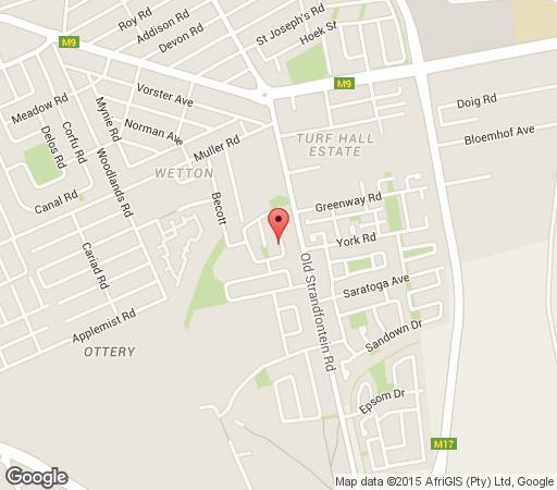 Map Navine\'s Homestay in Ottery  Southern Suburbs (CPT)  Cape Town  Western Cape  South Africa
