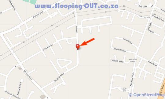 Map Polo Executive Apartments - 26 MVE in Sandton Central  Sandton  Johannesburg  Gauteng  South Africa