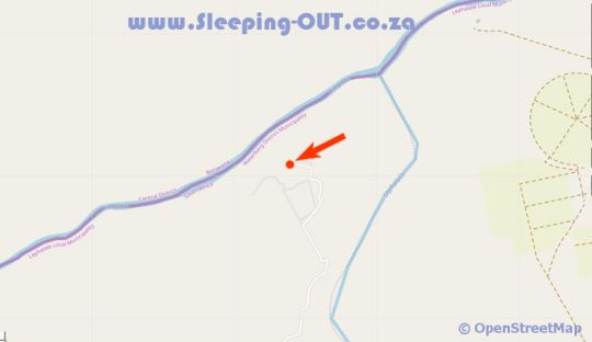 Map Palala Boutique Game Lodge and Spa in Lephalale  Waterberg  Bushveld  Limpopo  South Africa
