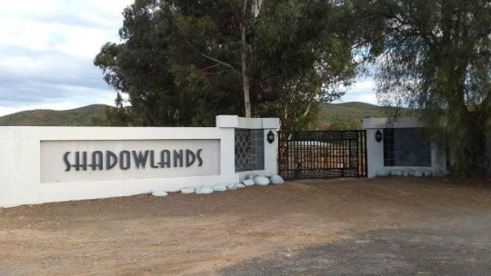 Map Shadowlands Guest Farm in Oudtshoorn  Klein Karoo  Western Cape  South Africa