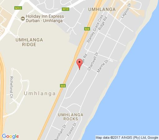 Map Villa on Ridge in Umhlanga Rocks  Umhlanga  Northern Suburbs (DBN)  Durban and Surrounds  KwaZulu Natal  South Africa