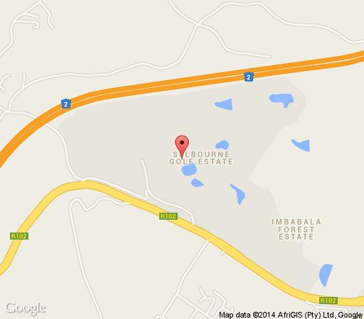 Map iMphithi Lodge in Pennington  South Coast (KZN)  KwaZulu Natal  South Africa