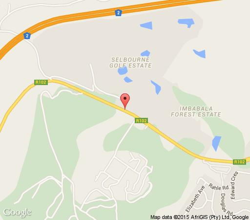 Map Mongoose Corner in Pennington  South Coast (KZN)  KwaZulu Natal  South Africa