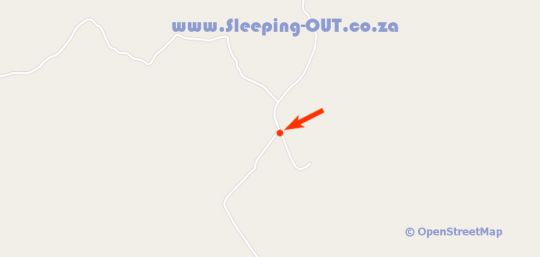 Map Woolly Bugger Farm in Dullstroom  Highlands  Mpumalanga  South Africa