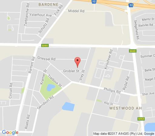 Map Ikaze Guest House in Boksburg  Ekurhuleni (East Rand)  Gauteng  South Africa