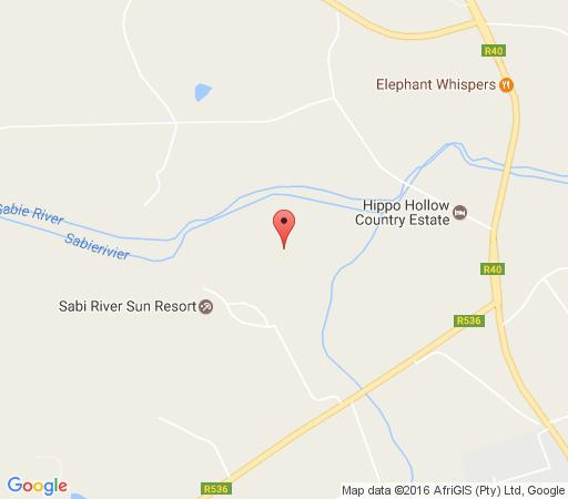 Map Aan de Vliet in Hazyview  The Panorama  Mpumalanga  South Africa