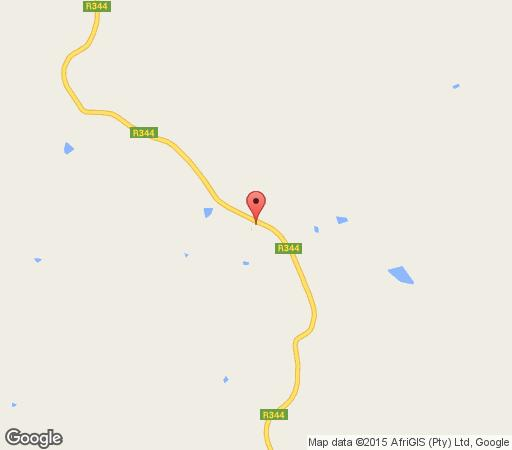 Map Redcliffe Country House in Tarkastad  Stormberg District  Eastern Cape  South Africa