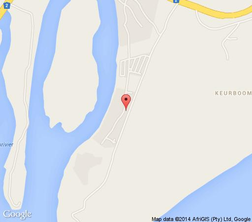 Map Riverview House in Plettenberg Bay  Garden Route  Western Cape  South Africa