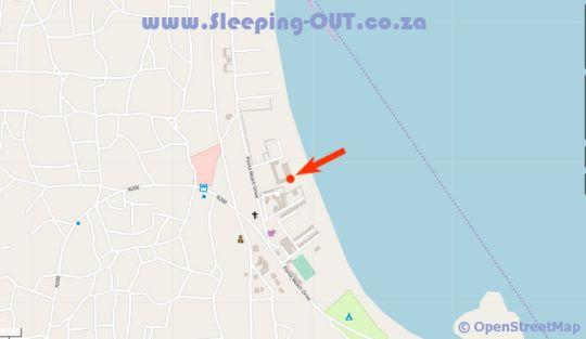 Map Paraiso do Ouro Resort in Ponta d'Ouro  Maputo  Mozambique