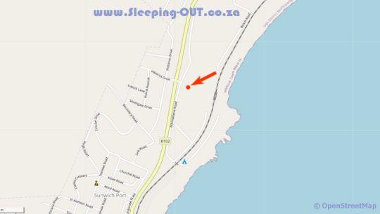 Map 2 Mzimayi, Mangrove Beach Estate in Melville (KZN)  South Coast (KZN)  KwaZulu Natal  South Africa