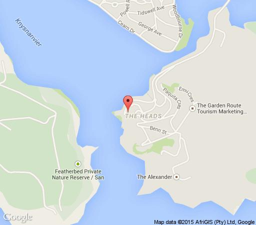Map Beacon House in Knysna  Garden Route  Western Cape  South Africa