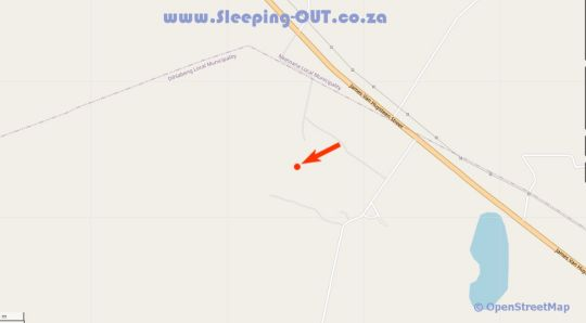 Map Bonamanzi Guest House in Burgersfort  Lowveld  Mpumalanga  South Africa