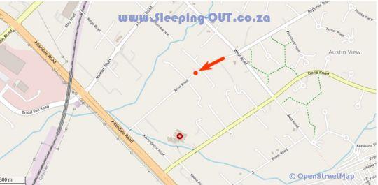 Map Stone River Cottages in Glen Austin AH  Midrand  Johannesburg  Gauteng  South Africa