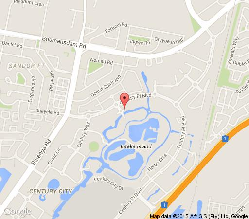 Map Waterstone F302 in Century City  Blaauwberg  Cape Town  Western Cape  South Africa