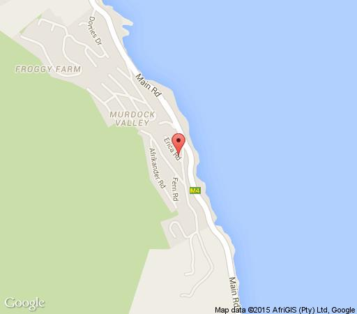Map Chef Bruce at The Flagship in Simon's Town  False Bay  Cape Town  Western Cape  South Africa