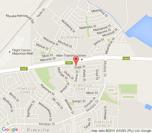 Map Flossie\'s B&B  in Soweto  Johannesburg  Gauteng  South Africa
