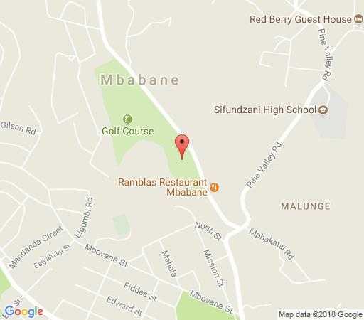 Map The Place - Guest House in Mbabane  Hhohho  Swaziland