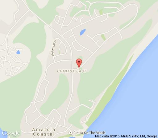 Map The Gables Apartments in Cintsa  East London  Amatole  Eastern Cape  South Africa