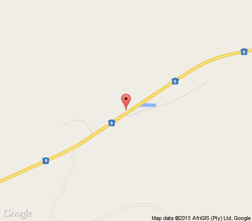 Map Keurfontein Country House in Willowmore  Cacadu (Sarah Baartman)  Eastern Cape  South Africa