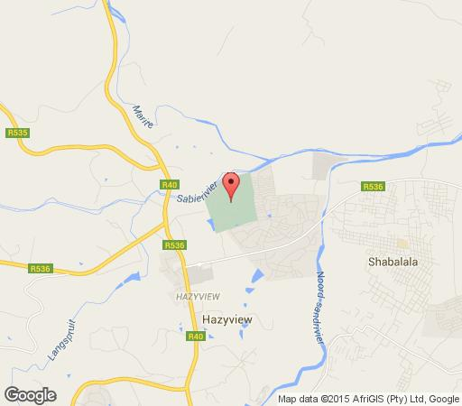 Map Kruger Park Retreat in Hazyview  The Panorama  Mpumalanga  South Africa