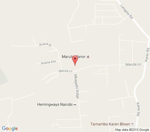 Map Purdy Arms  in Nairobi  Kenya