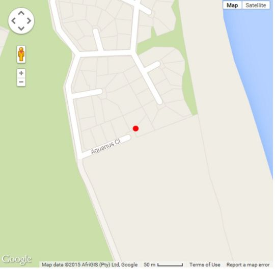 Map Robberg Beach House in Plettenberg Bay  Garden Route  Western Cape  South Africa