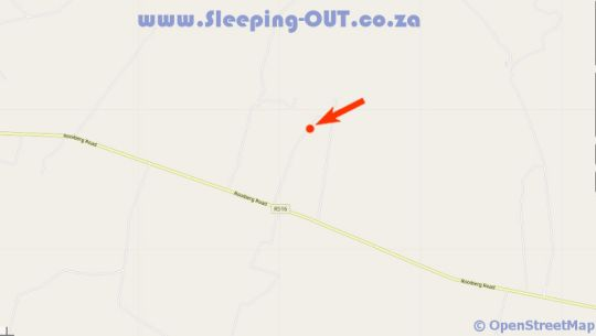 Map R and A Leisure Bush Lodge in Bela Bela  Bushveld  Limpopo  South Africa
