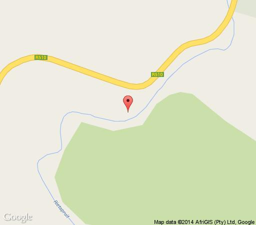 Map Ashante in Lephalale  Waterberg  Bushveld  Limpopo  South Africa