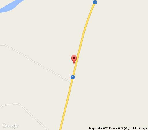 Map Sandriver Resort and Conferencing in Musina  Soutpansberg  Limpopo  South Africa