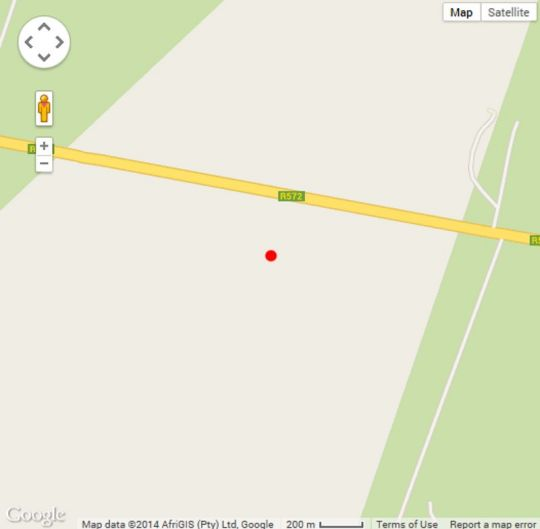 Map Ilala Country Lodge in Musina  Soutpansberg  Limpopo  South Africa