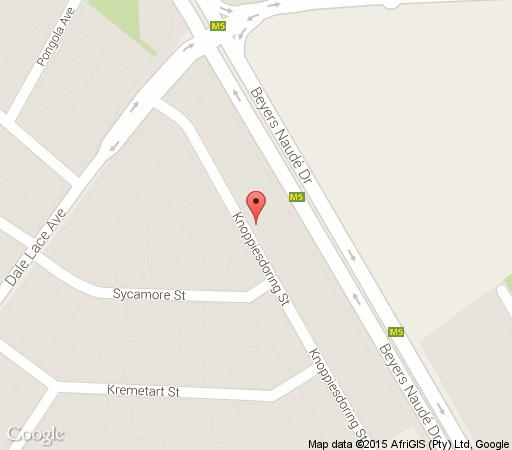 Map Whara Whara Guest House in Randpark Ridge  Randburg  Johannesburg  Gauteng  South Africa