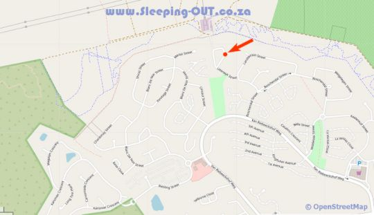 Map Cape Town Holiday House in Bellville  Northern Suburbs (CPT)  Cape Town  Western Cape  South Africa
