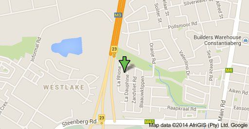 Map Baileys Place in Kirstenhof  Southern Suburbs (CPT)  Cape Town  Western Cape  South Africa