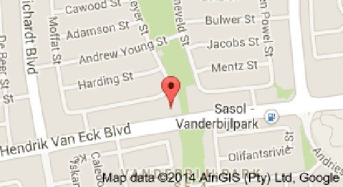Map The Guesthouse in Vanderbijlpark  Sedibeng District  Gauteng  South Africa