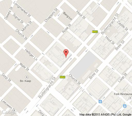 Map 48 Canterbury in Zonnebloem  City Bowl  Cape Town  Western Cape  South Africa