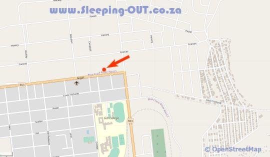 Map Altenburgh Accommodation in Somerset East  Cacadu (Sarah Baartman)  Eastern Cape  South Africa
