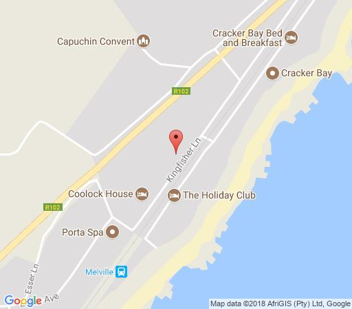 Map Mariannhill Missionaries House in Melville (KZN)  South Coast (KZN)  KwaZulu Natal  South Africa